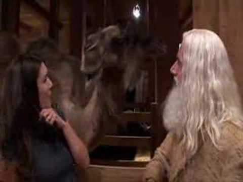 Lauren Graham meeting Steve Carell's favourite animal