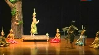 TVK Cambodian Classical Dance on 21 Dec 2013 Part 2