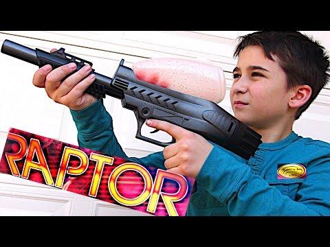 JT RAPTOR PUMP GUN PAINTBALL KIT with Robert-Andre!
