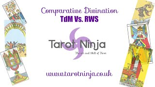 Comparative Divination - TdM vs. RWS Tarot - Episode 1 [English Subtitles Available]