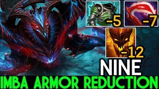 Nine [Shadow Fiend] Right Click Boss Imba Armor Reduction Build 7.21 Dota 2