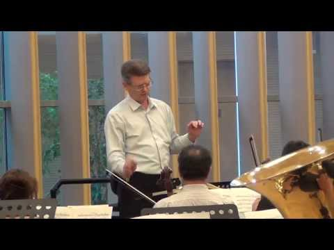 Conductor Roman Leontiev Tchaikovsky 2nd Mvt No.5 Symphony Rehearsal with Mariinsky Orchestra