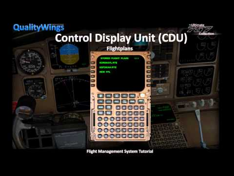 QualityWings Simulations: B757 FMC Tutorial