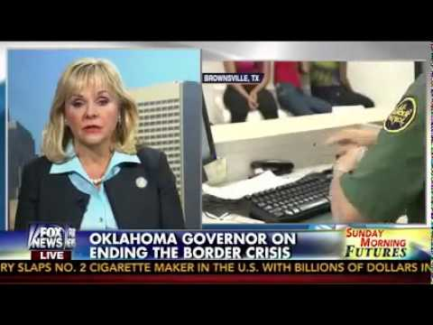 Oklahoma Gov. Mary Fallin on FOX News' Sunday Morning Futures with Maria Bartiromo