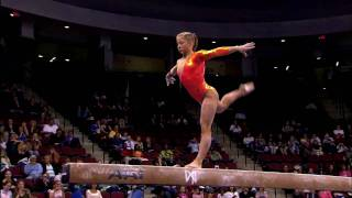 Shawn Johnson - Balance Beam - 2008 Visa Championships - Women - Day 1