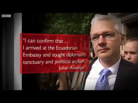WikiLeaks Julian Assange Seeks Asylum in Ecuador's London Embassy