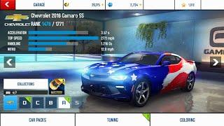 Asphalt 8 | Camaro SS multiplayer race 2018 & renault alpine celebration mastery challenge 15