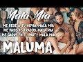Maluma - Mala Mía (Letra/Lyrics)
