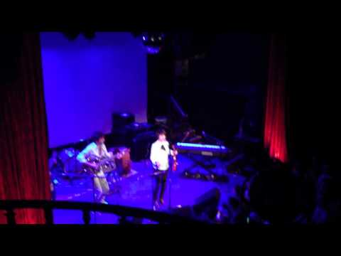 Angeles - Christina Courtin, Chris Thile, Ryan Scott (Elliott Smith) at No Name #1 NYC