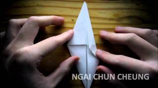 Origami Paper Dragon (tutorial)