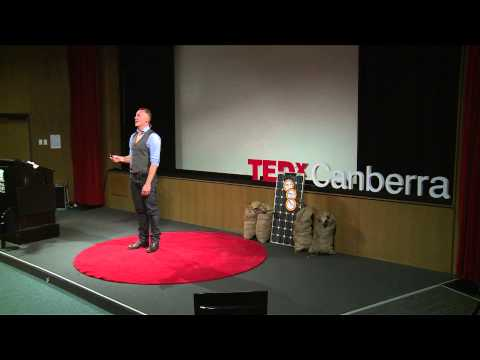 Crowd investing for a renewable future : Will Grant at TEDxCanberraSalon