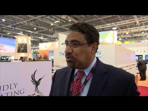 Hon. Wykeham McNeill, minister of tourism & entertainment, Jamaica @ WTM 2012