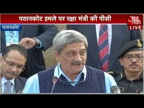 Manohar Parrikar Announces End Of Pathankot Operation