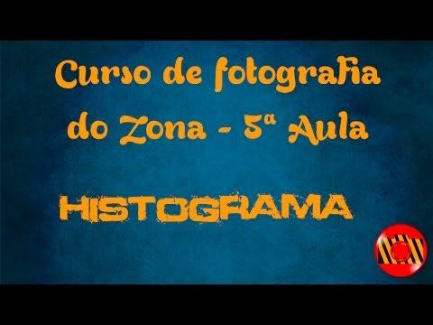 Curso de fotografia do Zona - 5ª Aula - Histograma