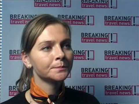 Birna Gudmundsdottir, Marketing Manager, Iceland Express @ WTM 2008