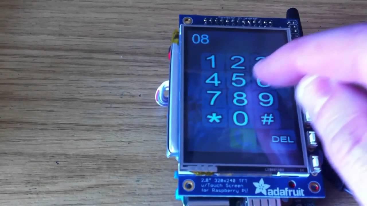 Piphone A Raspberry Pi Based Smartphone Youtube