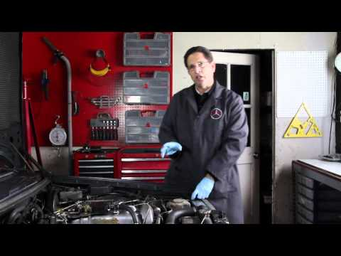 Mercedes Power Steering Pump Fluid Leak Diagnosis and Repair