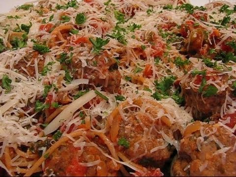 Betty's Spaghetti and Meatballs with Marinara Sauce