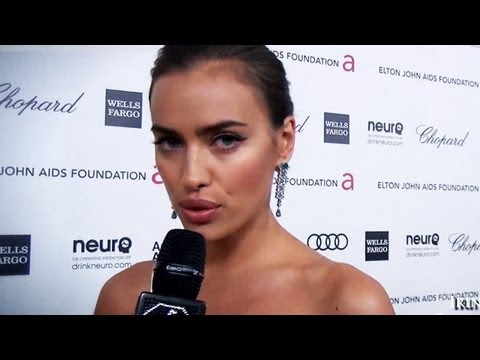 Irina Shayk, Miley Cyrus, Kelly Osbourne, Ted Danson at EJAF Oscars Viewing Party 2012 | FashionTV
