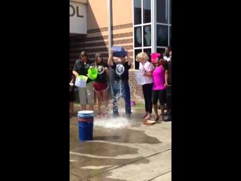 John Hopkins Middle School Ice Bucket Challenge