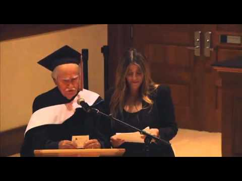 Vittorio Taviani's speech at the Italian School Middlebury College