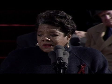 Raw: Maya Angelou's poem from Clinton's 1993 inauguration