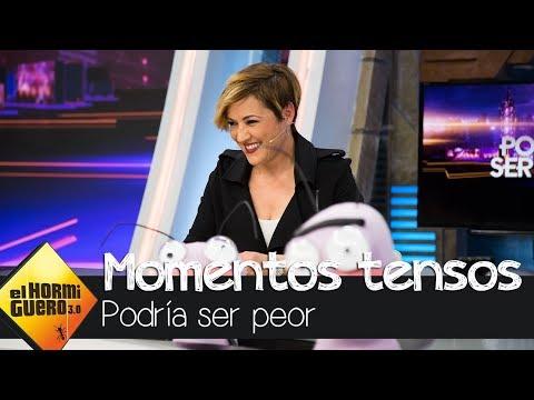 """Cristina Pardo revive los momentos más """"tensos"""" de Mamen Mendizábal - El Hormiguero 3.0"""