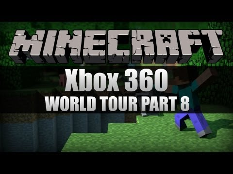 [HD] Minecraft for Xbox - World Tour Update 8 - Watch Tower and New Land