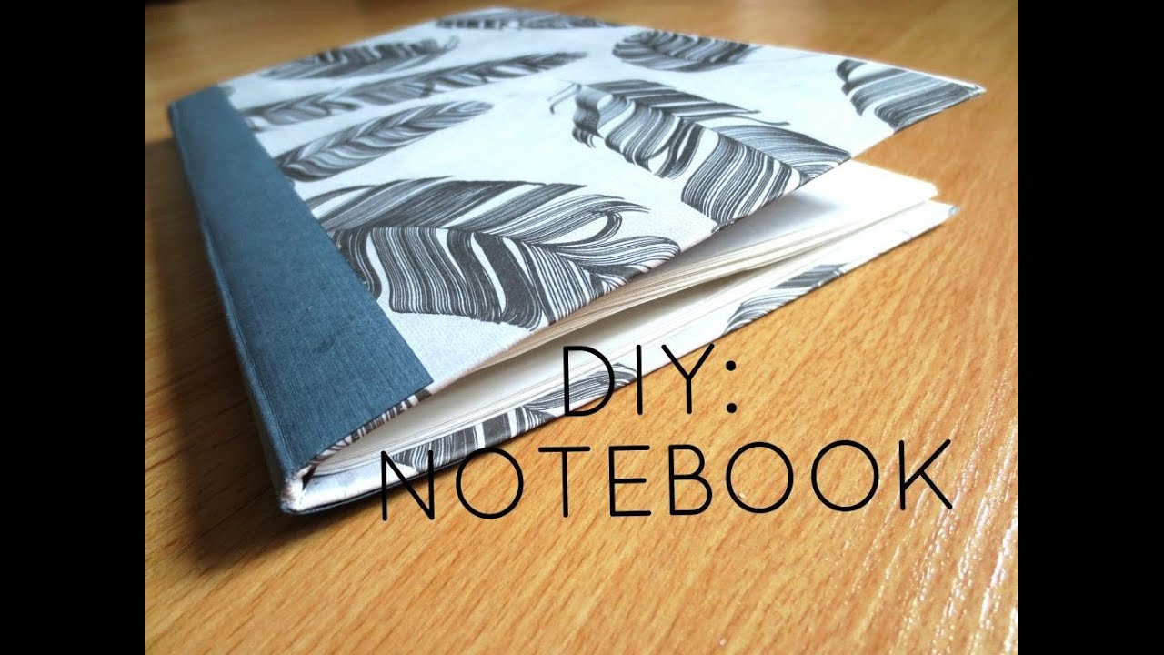 Diy custom notebook from old cereal box youtube for Things you can make with paper clips