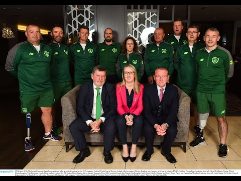 Ireland Squad Prepared for Amputee World Cup 2018 | Mexico