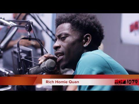 Rich Homie Quan On Hot 107.9 Atlanta video