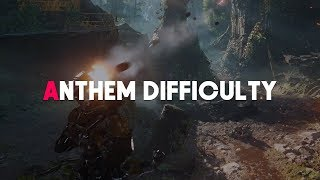Anthem | New info, Enemies, & Difficulty Discussion