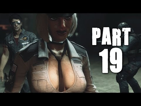 Dead Rising 3 Gameplay Walkthrough Part 19 - Hilde Psychopath Boss (XBOX ONE)