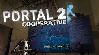 Portal 2 Co-Op - SOMETHING ABOUT A DISK w/Jimbo - Part 1