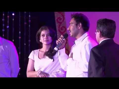 Prashant Rao with Ajay Devgan & Kajol