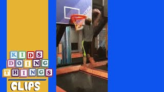 Hilarious Basketball Fail | Kids Doing Things Clips