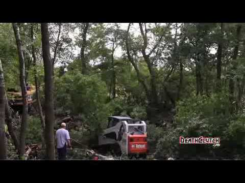 Brock Lesnar Clearing Trees