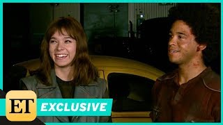 Behind the Scenes of Bumblebee With John Cena and Hailee Steinfeld (Exclusive)
