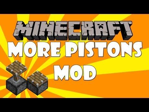 Minecraft more pistons mod review 1.2.5 (Dutch)