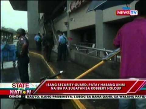 SONA: Tatlong suspek sa Roberry Holdup sa Robinson's Galleria, nakunan ng CCTV