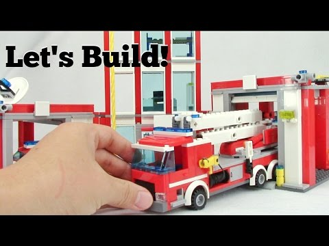 LEGO City Fire Station 60110 - Let's Build!