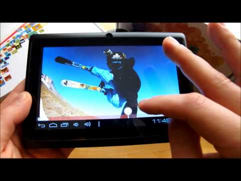 7inch AllWinner A13 1.5GHz Android 4.0 WIFI Tablet PC MID 4GB Capacitance screen review Boxchip A13
