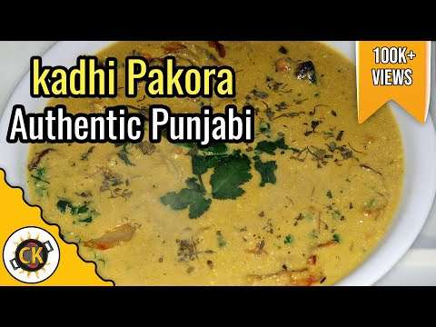 Punjabi Kadhi Pakora Traditional Authentic Recipe of Pakoda...