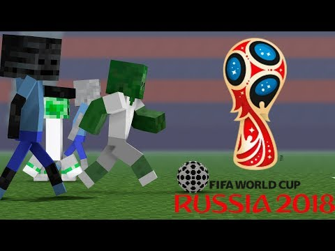 Monster School : FIFA WORLD CUP 2018 RUSSIA Challenge  - Minecraft Animation