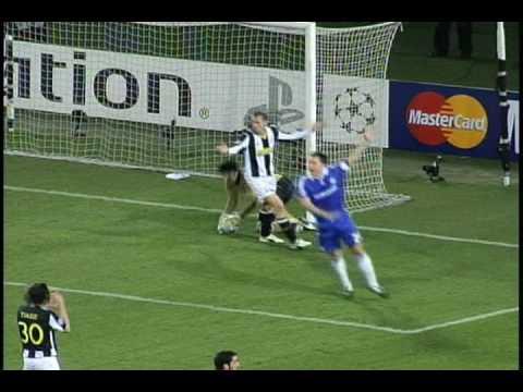 Juventus 2-2 Chelsea: Drogba Free Kick vs Buffon