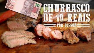 Churrasco Barato/Econômico de 10 Reais I Churrasqueadas