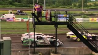 IMCA Modified Feature 7/15/18 Sports Park Raceway fort dodge Iowa