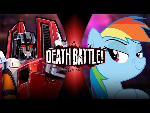 Starscream VS Rainbow Dash | DEATH BATTLE! | ScrewAttack!