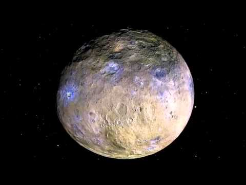 Ceres Rotation and Occator Crater