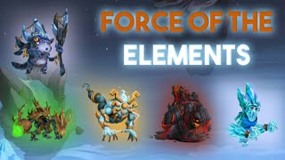 Fuerza De Los Elementos (Force Of The Elements Maze Island) | Monster Legends